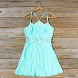 The Sunseeker Dress in Turquoise: Alternate View #1