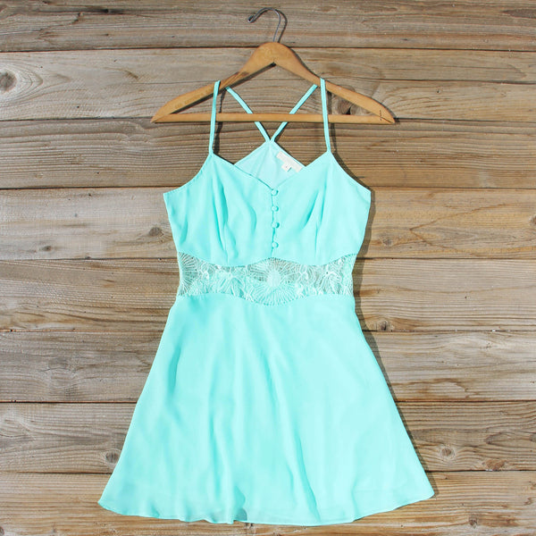 The Sunseeker Dress in Turquoise: Featured Product Image