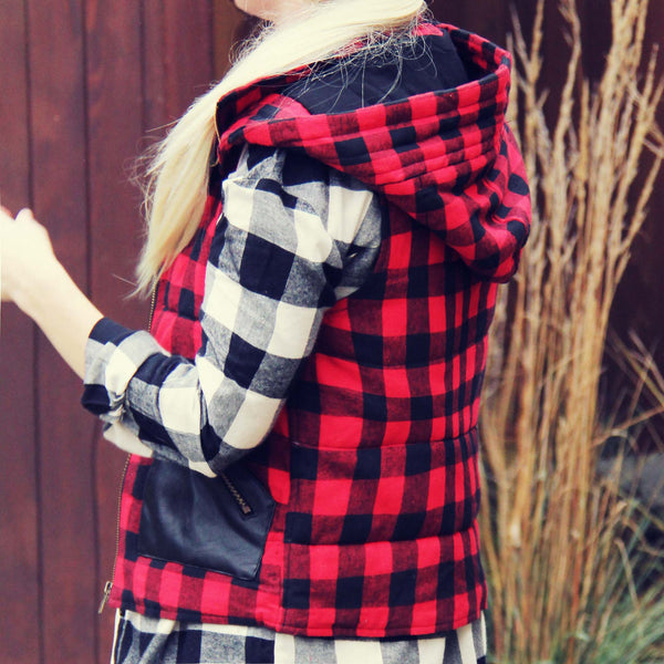 The Wenatchee Plaid Vest: Featured Product Image