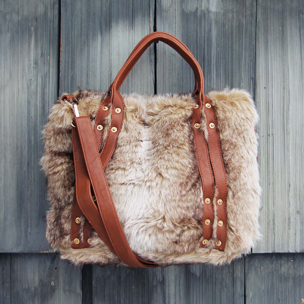 The Yukon Faux Fur Tote: Featured Product Image
