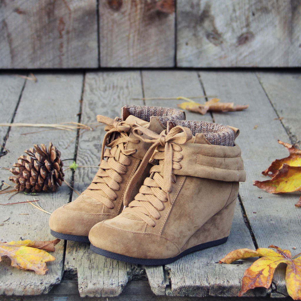 Through the woods booties