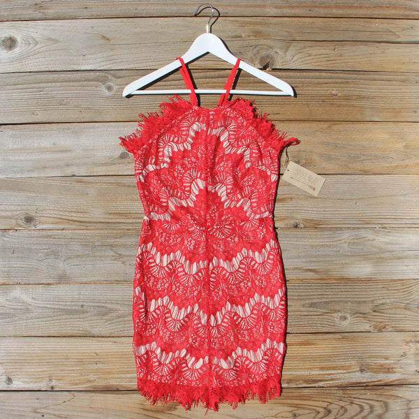Thunder & Sky Lace Dress: Featured Product Image