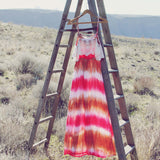 Tie Dye Dreams Maxi Dress: Alternate View #4