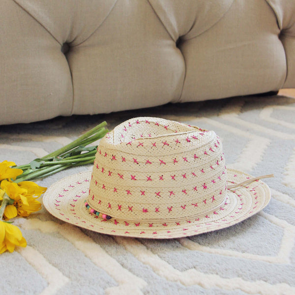Sweet Stitch Fedora: Featured Product Image