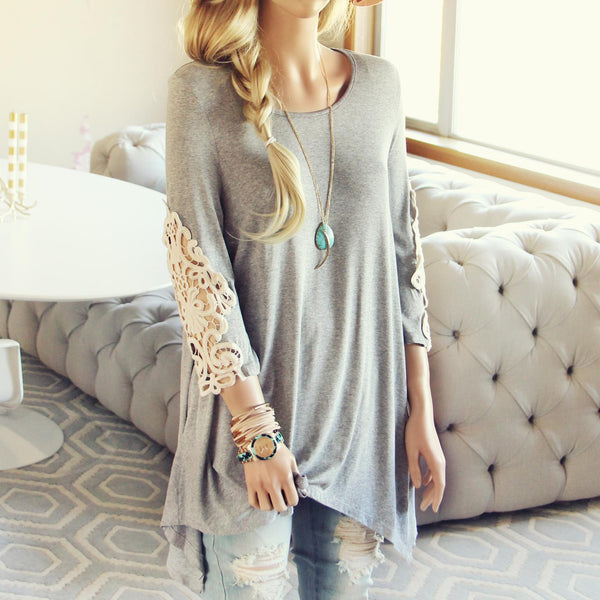 Tilly Lace Tee: Featured Product Image