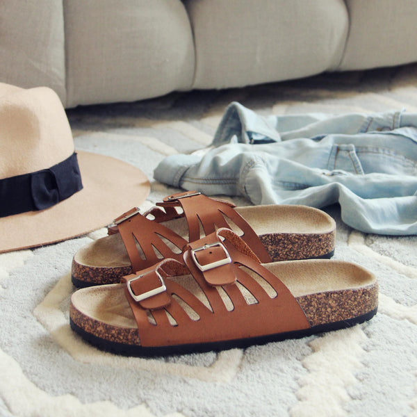Timber Cove Sandals: Featured Product Image