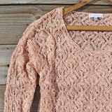Timber Line Top in Pink: Alternate View #2