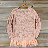Timber Line Top in Pink: Alternate View #4