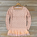 Timber Line Top in Pink: Alternate View #1