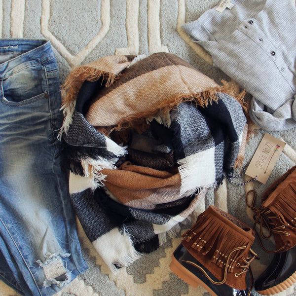 Timber Smoke Scarf: Featured Product Image