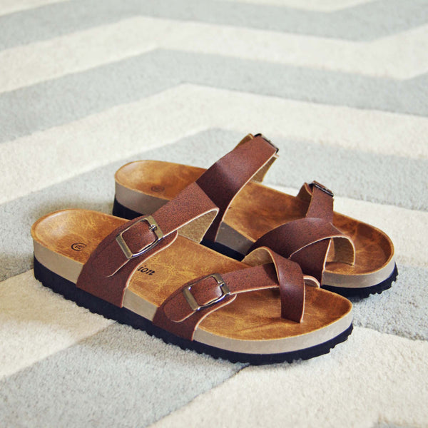 Timber Trail Sandals: Featured Product Image