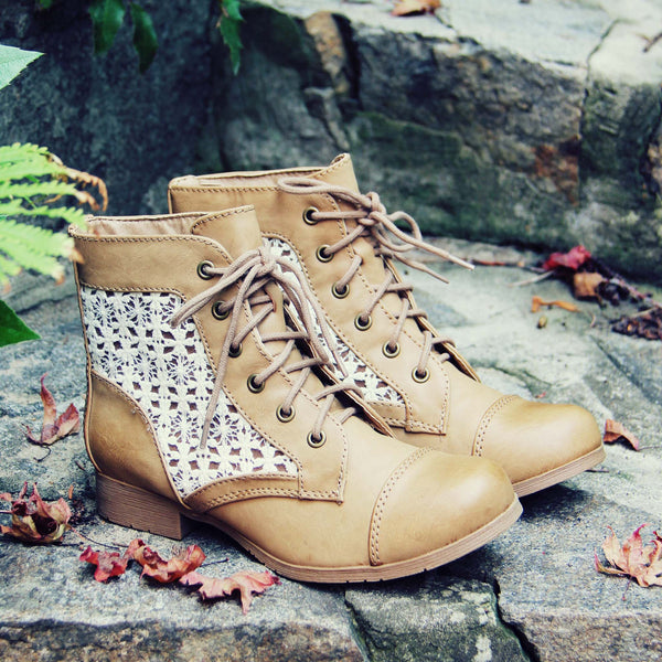 Timberline Lace Boots: Featured Product Image