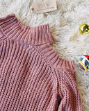Toasty Knit Sweater in Mauve: Alternate View #2