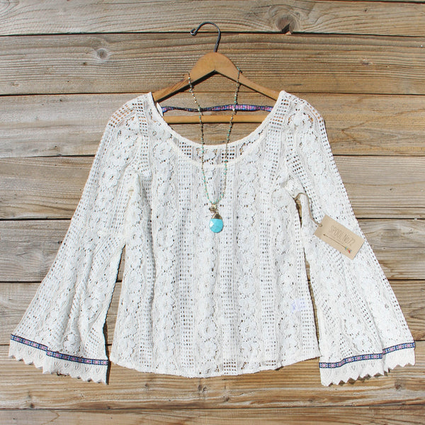 Tocca Lace Top: Featured Product Image