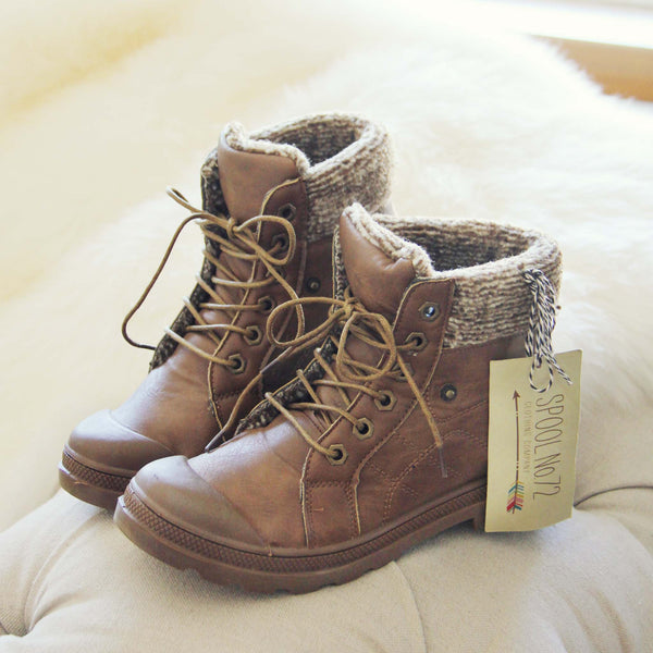 Cedar Hiker Booties: Featured Product Image