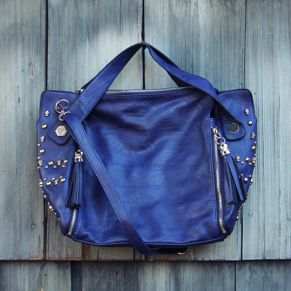 Tucker Studded Tote in Midnight: Featured Product Image