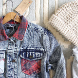 The Tucker Jean Jacket in Plaid: Alternate View #2