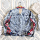 The Tucker Jean Jacket in Plaid: Alternate View #4