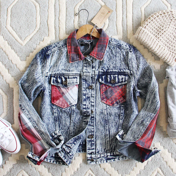 The Tucker Jean Jacket in Plaid: Featured Product Image