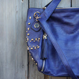 Tucker Studded Tote in Midnight: Alternate View #2