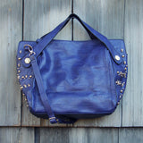 Tucker Studded Tote in Midnight: Alternate View #3