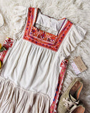 Tulum Embroidered Tunic Dress: Alternate View #2