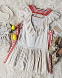Tulum Embroidered Tunic Dress: Alternate View #4