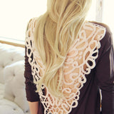 Tumbleweed Lace Tee: Alternate View #1
