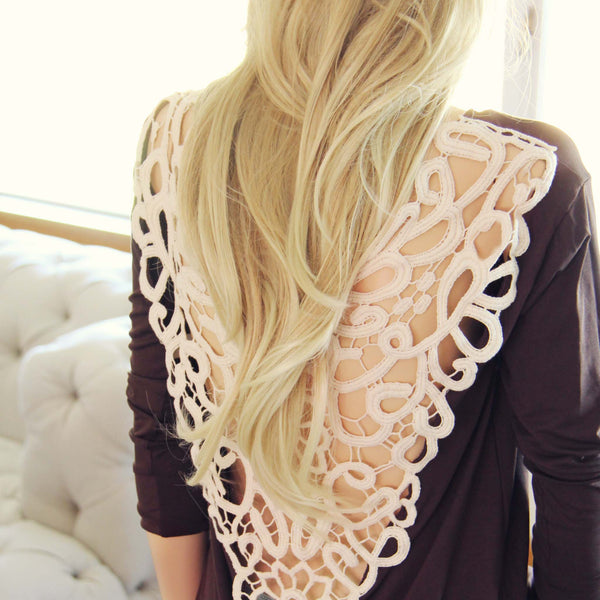 Tumbleweed Lace Tee: Featured Product Image