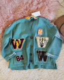 Varsity Sweater in Mint: Alternate View #1