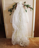 Vintage Daisy Lace Wedding Dress: Alternate View #7