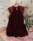 Velvet & Lace Tunic Dress: Alternate View #4
