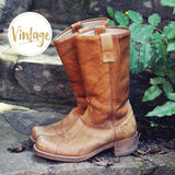 Vintage Campus Boots: Alternate View #1