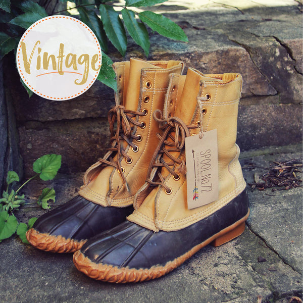 Vintage Duck Boots: Featured Product Image