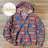 Vintage Fall Hooded Jacket: Alternate View #1