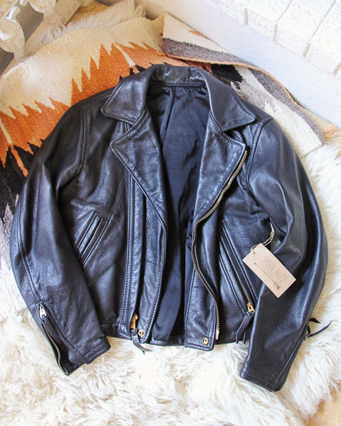 Vintage 70's Motorcycle Jacket: Featured Product Image