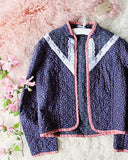 Vintage 70's Quilted Jacket: Alternate View #2