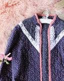 Vintage 70's Quilted Jacket: Alternate View #3