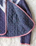 Vintage 70's Quilted Jacket: Alternate View #4