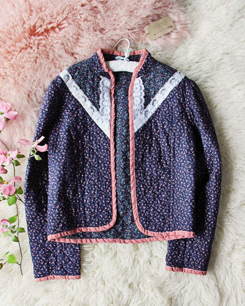 Vintage 70's Quilted Jacket: Featured Product Image