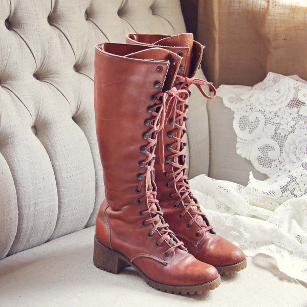 Vintage 1960's Boots: Featured Product Image