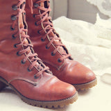 Vintage 1960's Boots: Alternate View #3
