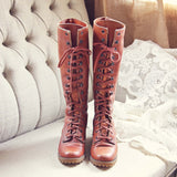 Vintage 1960's Boots: Alternate View #2