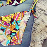 Vintage 60's Groovy Bikini: Alternate View #2