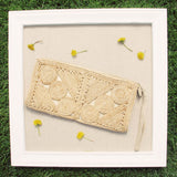 Vintage 60's Woven Clutch: Alternate View #3