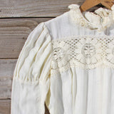 Vintage 70's Vagabond Lace Dress: Alternate View #2