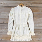 Vintage 70's Vagabond Lace Dress: Alternate View #4