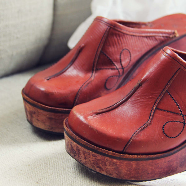 the best attitude new photos the sale of shoes Vintage 70's Sweet Clogs
