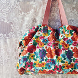 Vintage 70's Boho Tote: Alternate View #2