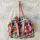Vintage 70's Boho Tote: Alternate View #3